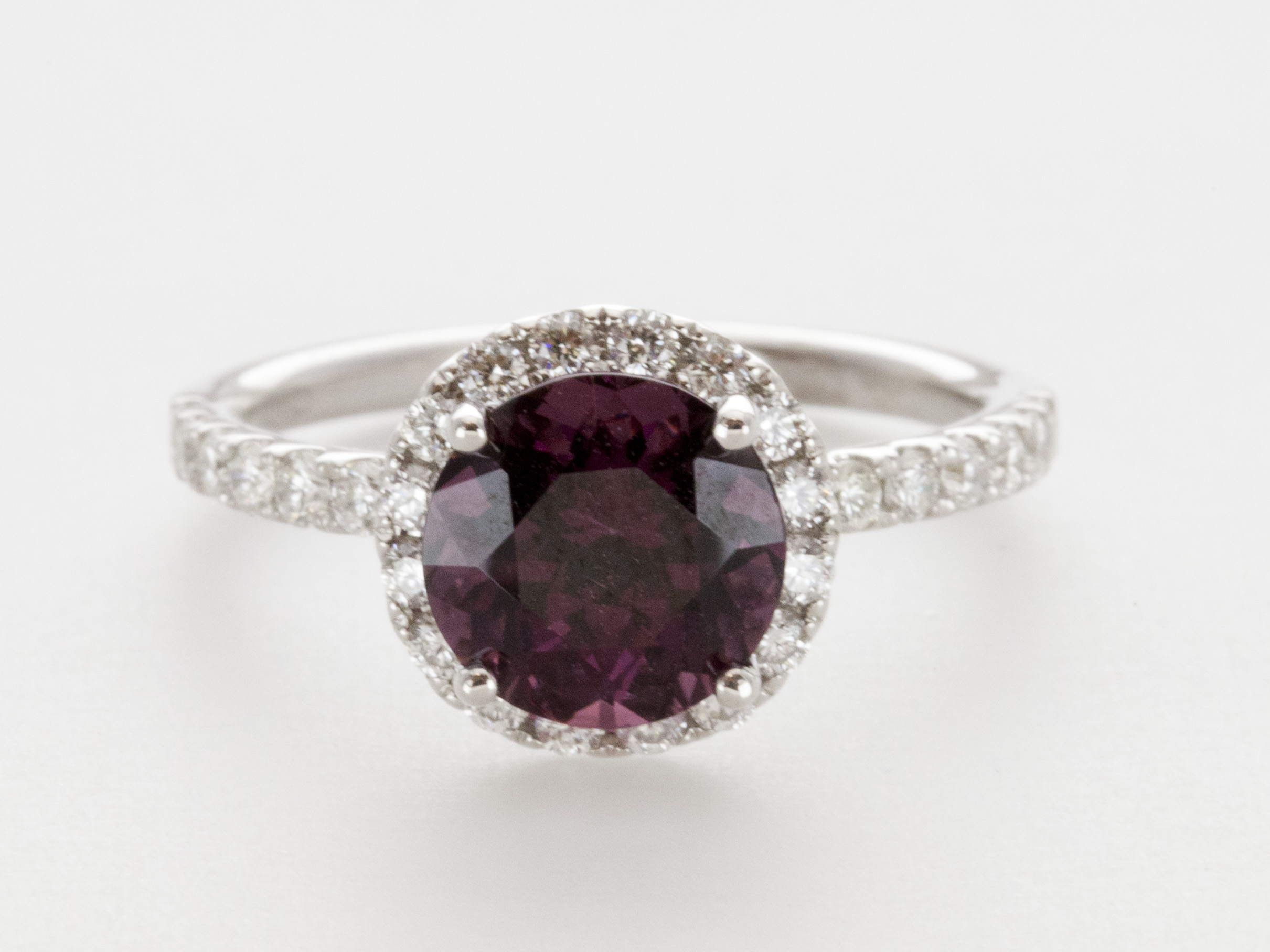 aria engagement rings rhodolite garnet silver sterling pin ring